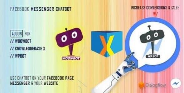 Plugin ChatBot for FaceBook Messenger - WordPress