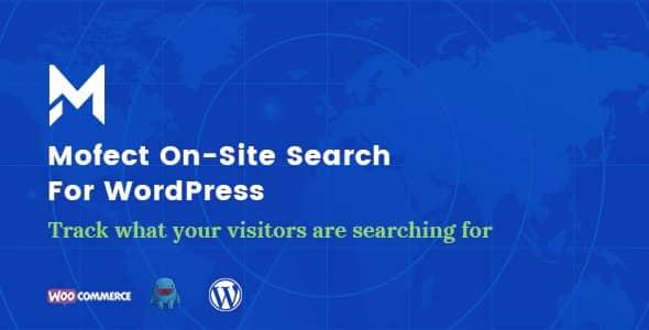 Plugin Mofect OnSite Search For WordPress