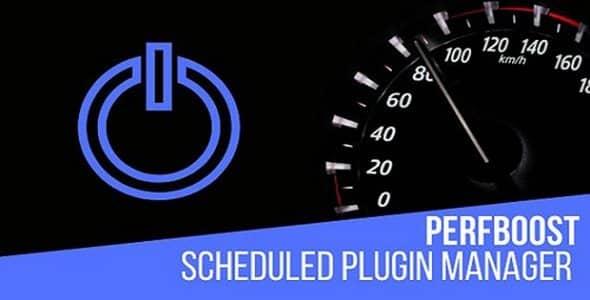 Plugin PerfBoost Scheduled Plugin Manager - WordPress