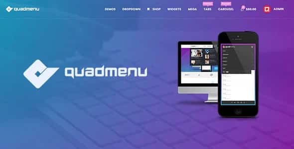 Plugin QuadMenu Pro - WordPress