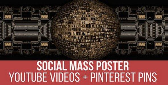 Plugin Social Mass Poster - WordPress