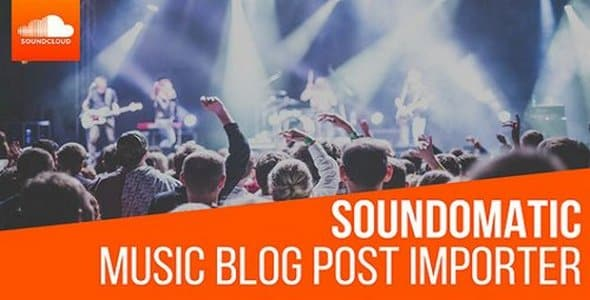 Plugin Soundomatic - WordPress