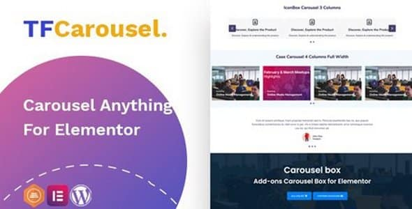 Plugin TfCarousel - WordPress