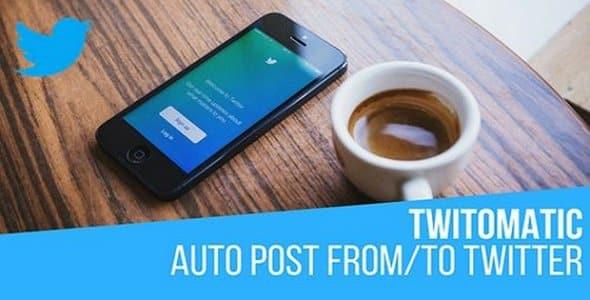 Plugin Twitomatic - WordPress