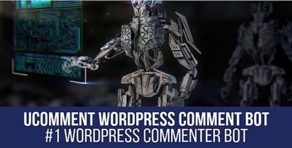 Plugin Ucomment WP Comment Bot - WordPress