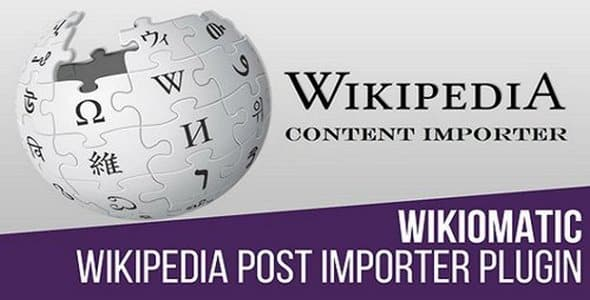Plugin Wikiomatic - WordPress