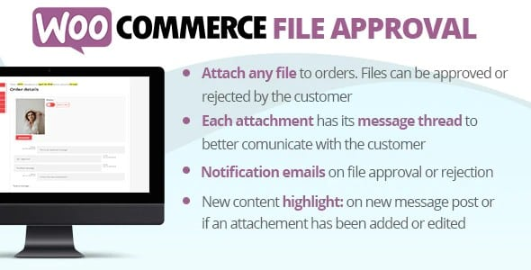 Plugin WooCommerce File Approval - WordPress