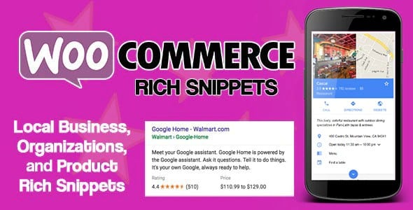 Plugin WooCommerce Rich Snippets - WordPress