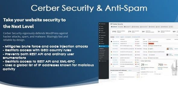 Plugin Wp Cerber Security Pro - WordPress