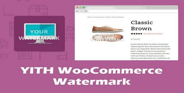 Plugin Yith WooCommerce Watermark - WordPress