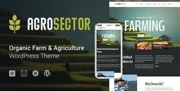 Tema Agrosector - Template WordPress