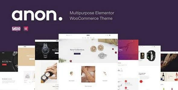 Tema Anon - Template WordPress