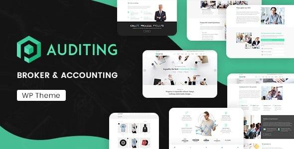 Tema Auditing - Template WordPress