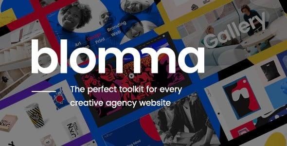 Tema Blomma - Template WordPress