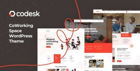 Tema Codesk - Template WordPress