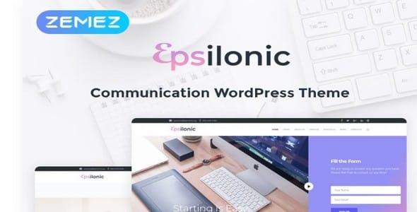 Tema Communication Epsilonic - Template WordPress