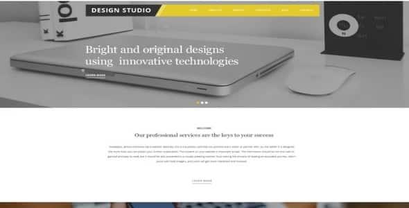 Tema Design Studio Zemez - WordPress