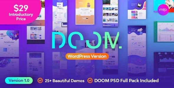 Tema Doom - Template WordPress