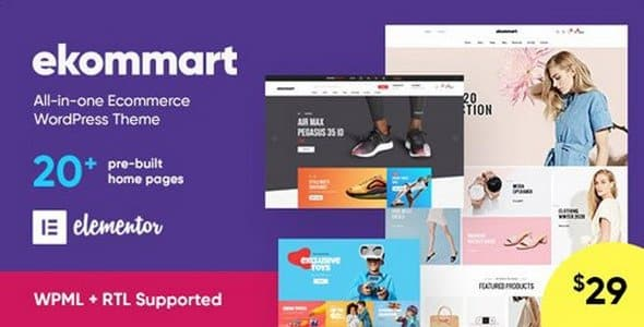 Tema Ekommart - Template WordPress