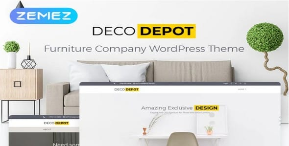 Tema Furniture Company - Template WordPress