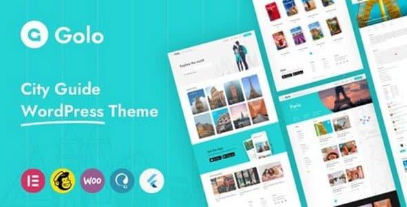 Tema Golo - Template WordPress