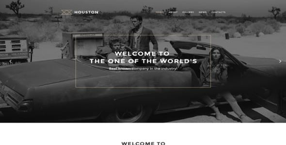 Tema Houston - WordPress