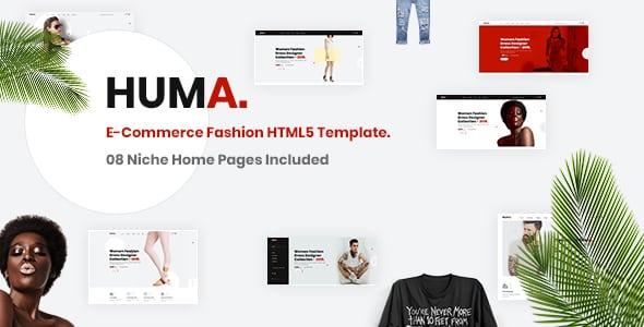 Tema Huma - Template WordPress