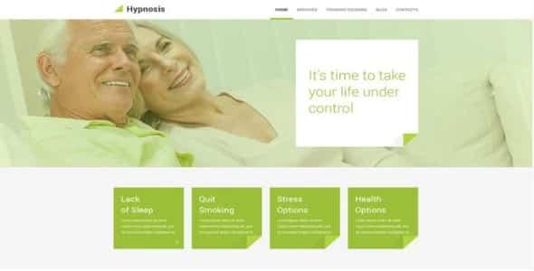 Tema Hypnosis - Template WordPress