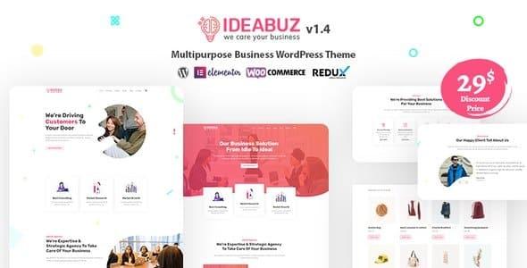 Tema Ideabuz - Template WordPress