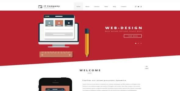 Tema It Company - Template WordPress