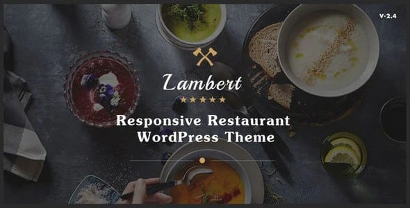 Tema Lambert - Template WordPress