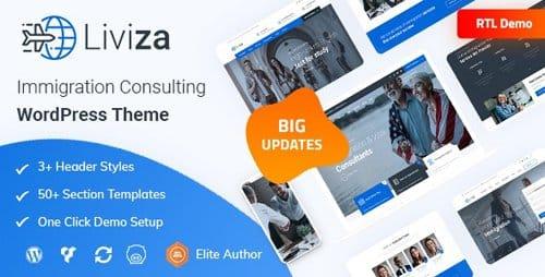Tema Liviza - Template WordPress