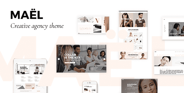 Tema Mael - Template WordPress