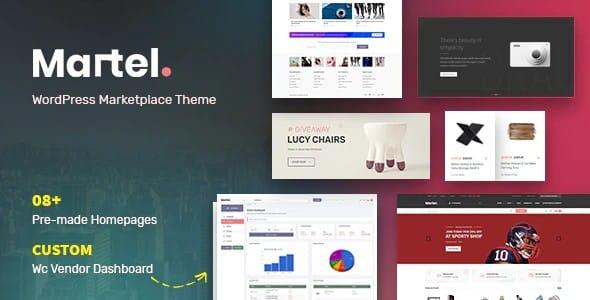 Tema Martel - Template WordPress