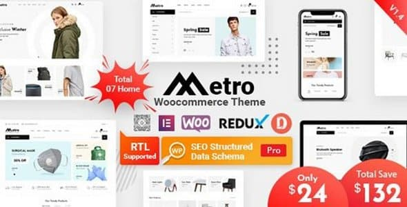 Tema Metro RadiusTheme - Template WordPress