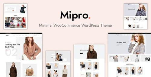 Tema Mipro - Template WordPress