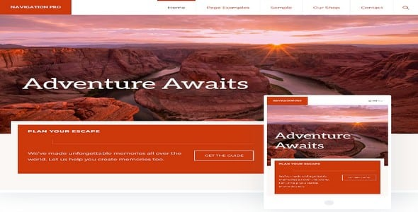 Tema Navigation Pro - Template WordPress