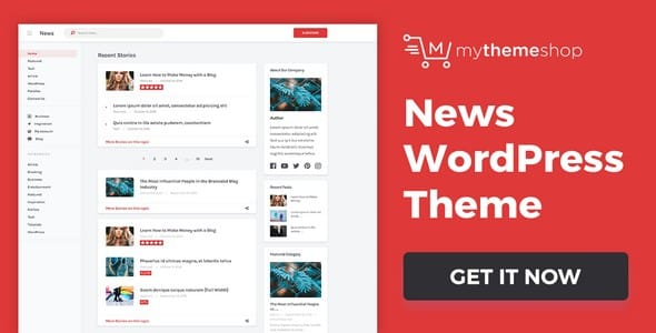Tema News Mythemeshop - Template WordPress