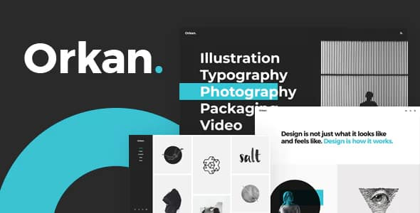 Tema Orkan - Template WordPress