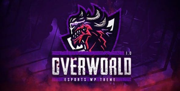 Tema Overworld - Template WordPress