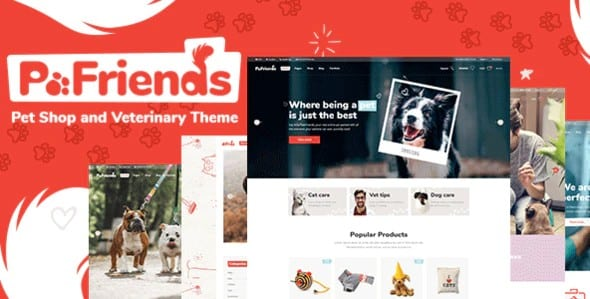 Tema PawFriends - Template WordPress