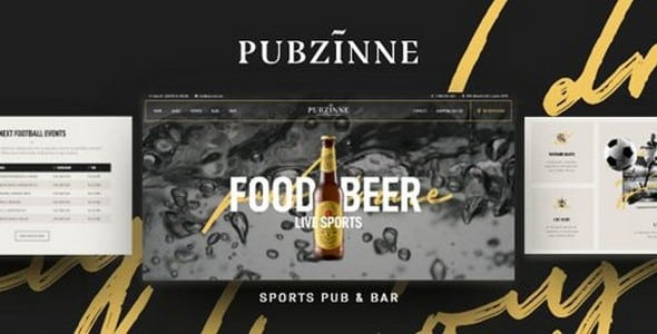 Tema Pubzinne - Template WordPress