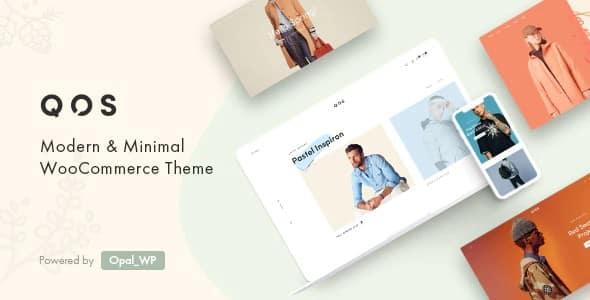 Tema Qos - Template WordPress