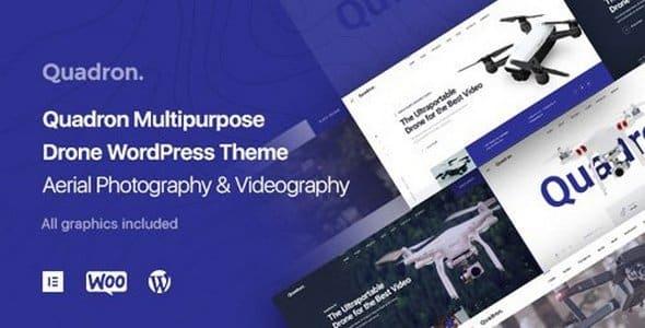 Tema Quadron - Template WordPress