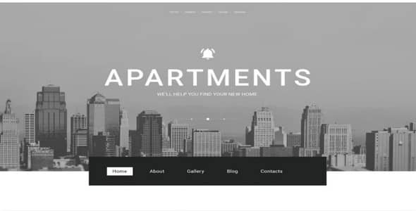 Tema Real Estate Agency - WordPress
