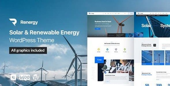 Tema Renergy - Template WordPress