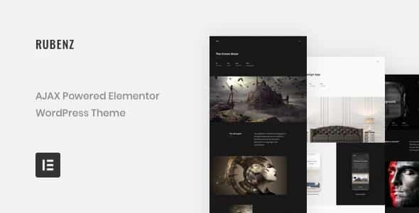 Tema Rubenz - Template WordPress