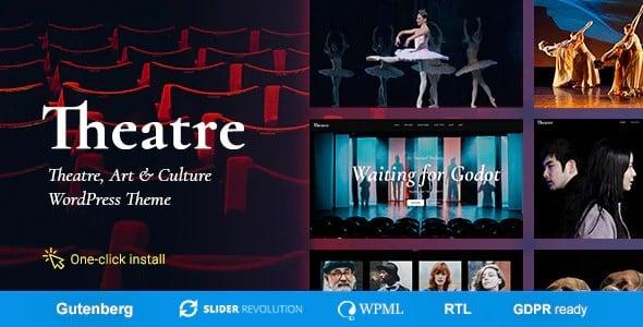 Tema Theater - Template WordPress