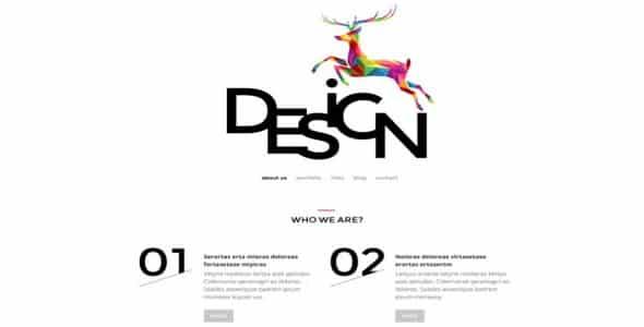 Tema Web Design Agency - Template WordPress