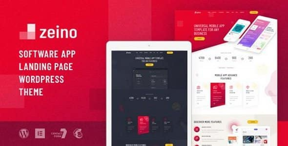 Tema Zeino - Template WordPress